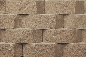 Belgard Wall Paver Anchor Diamond 9D in Sandstone